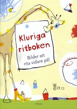 Kluriga ritboken : bilder att rita vidare på!