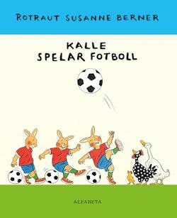 Kalle spelar fotboll