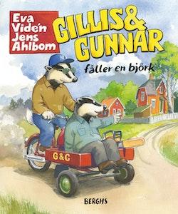Gillis och Gunnar fäller en björk