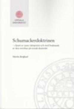 Schumackerdoktrinen : i ljuset av nyare rättspraxis och med beaktande av dess inverkan på svensk skatterätt