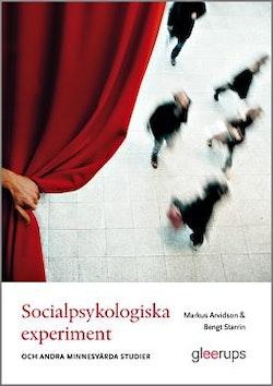 Socialpsykologiska experiment -och andra minnesvärda studier