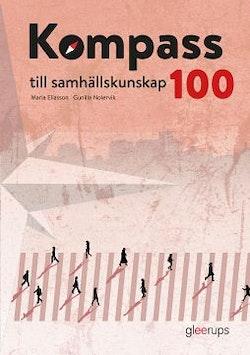 Kompass till samhällskunskap 100, elevbok, 2:a uppl