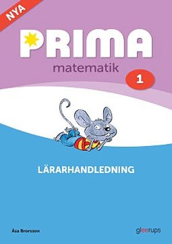 Prima matematik 1 Lärarhandledning