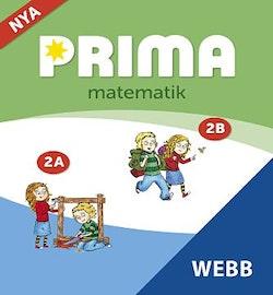 Prima matematik 2, Elevwebb Individlicens 12 mån