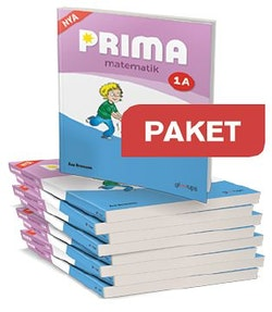 Prima matematik 1A,25 ex Elevbok+Elevwebb +1 ex LH+Lärarwebb