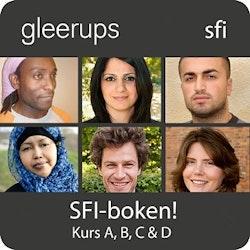 SFI-boken! Kurs A, B, C & D, digital, elevlic 6 mån