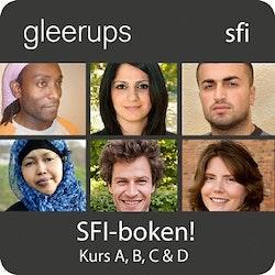 SFI-boken! Kurs A, B, C & D, digital, lärarlic 12 mån