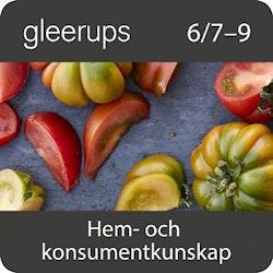 Gleerups hem- och konsumentkunskap 7–9, digital, elevlicens