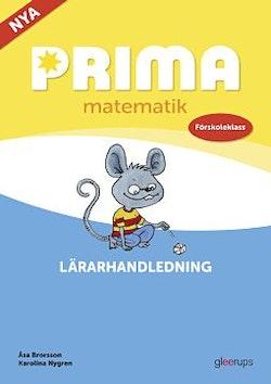 Prima matematik Förskoleklass Lärarhandledning