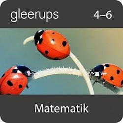 Gleerups matematik 4-6, digital, elevlic 12 mån
