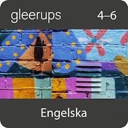 Gleerups engelska 4-6, digital, elevlic 12 mån