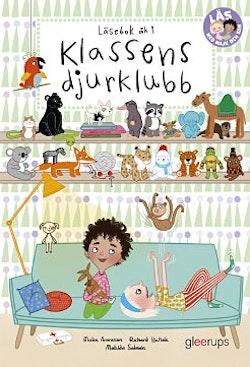 Läs med Majk och Sam 1, Klassens djurklubb, läsebok