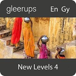 New Levels 4, digitalt läromedel, lärarlicens 12 mån