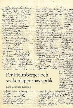 Per Holmberger och sockenlapparnas språk
