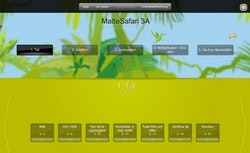Matte Direkt Safari 3 för interaktiv skrivtavla/projektor (skollicens) 1 år