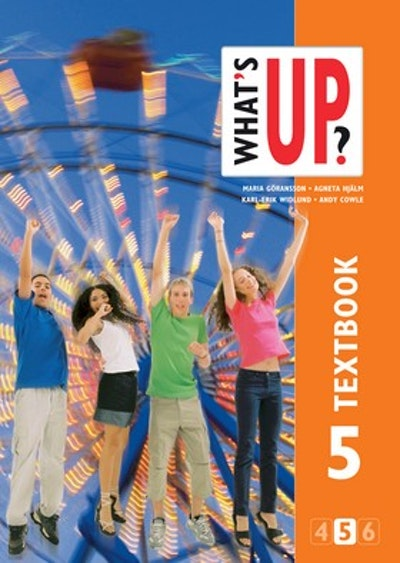What´s up? åk 5 Textboken onlinebok (elevlicens) 6 månader