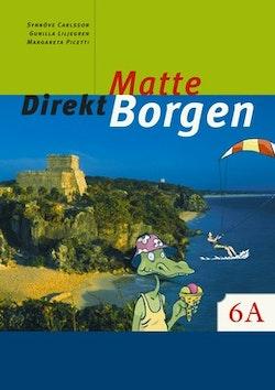 Matte Direkt Borgen 6A onlinebok (elevlicens) 6 månader