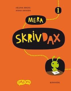 Mera SkrivDax 1 onlinebok (elevlicens) 6 månader