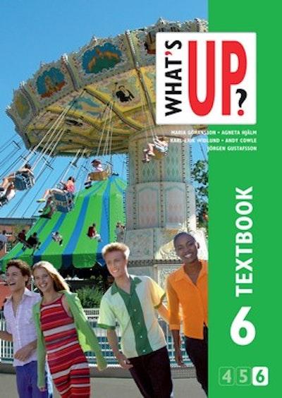 What´s up? åk 6 (4-6) Textbook onlinebok (elevlicens) 6 månader