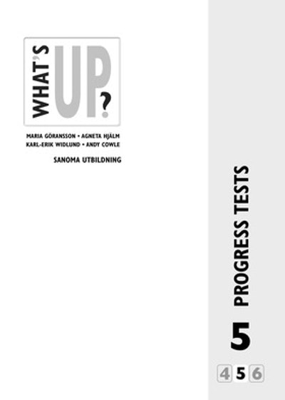What's Up? 5, Progress tests (5-pack)