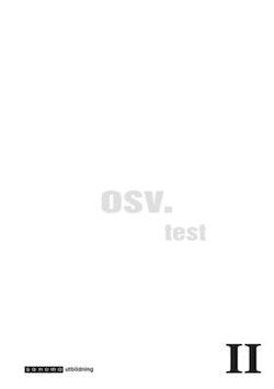 osv. II Test i Svenska åk 8 10-pack