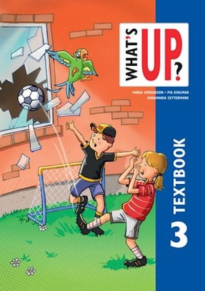 What's up, 3 Textbok onlinebok (elevlicens) 6 månader