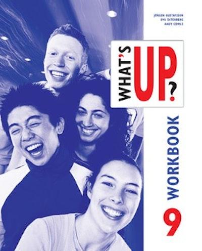 What's up? åk 9 Övningsbok onlinebok (elevlicens) 6 månader