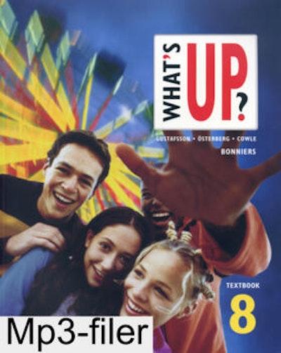 What´s up? åk 8 Lärarens ljudfiler online (mp3-filer) Skollicens