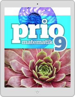 Prio Matematik 9 digital (lärarlicens)