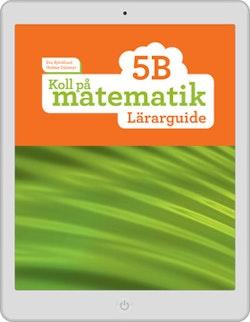 Koll på matematik 5B digital (lärarlicens)