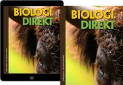 Biologi Direkt elevpaket, 1 ex. Grundbok + 1 ex. digital elevlicens 1 år