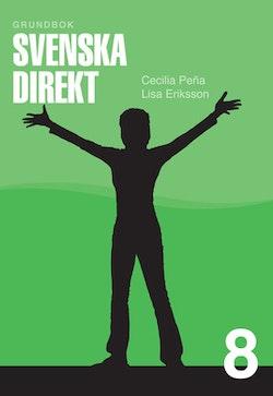 Svenska Direkt åk 8 Grundbok onlinebok Ny (elevlicens) 1 år