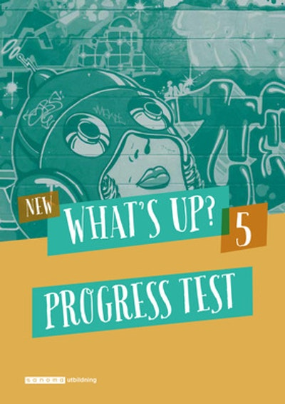 New What's Up? 5, Progress test (pdf+mp3)