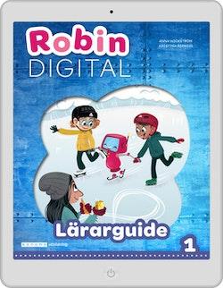 Robin åk 1 Digitalt lärarstöd