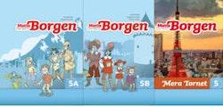 Matte Direkt Borgen 5 Grundbok A+B, Mera Tornet