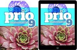 Prio Matematik 9 elevpaket, 1ex Grundbok + 1ex digital