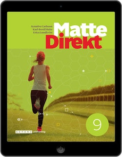 Matte Direkt 9 digital (elevlicens)