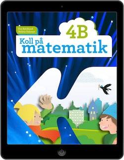 Koll på matematik 4B digital (elevlicens)