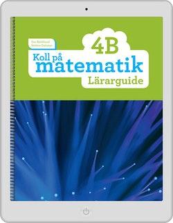 Koll på matematik 4B digital (lärarlicens)
