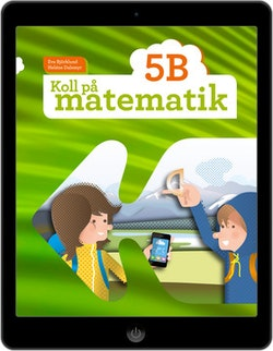 Koll på matematik 5B digital (elevlicens)