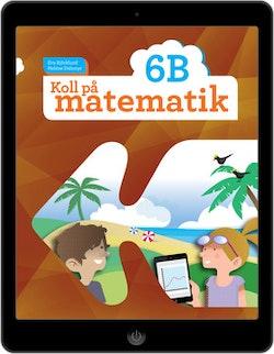 Koll på matematik 6B digital (elevlicens)