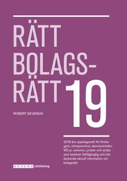 Rätt Bolagsrätt 2019