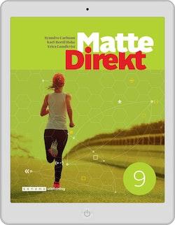 Matte Direkt 9 digital (lärarlicens)