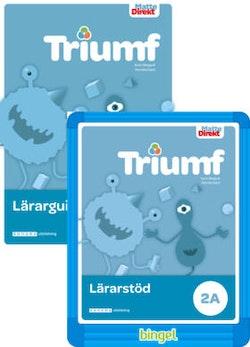 Matte Direkt Triumf 2A Lärarpaket, Guide tryckt + digital