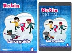 Robin åk 1 Lärarpaket, Guide 1ex tryckt + 1ex digital