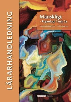 Mänskligt - Psykologi 1 och 2a, lärarhandledning (pdf)