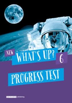 New What's Up? 6, Progress test (pdf+mp3)