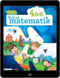 Koll på matematik 4A+4B digital (elevlicens)