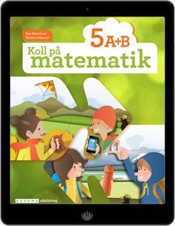 Koll på matematik 5A+5B digital (elevlicens)