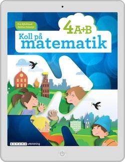 Koll på matematik 4A+4B digital (lärarlicens)